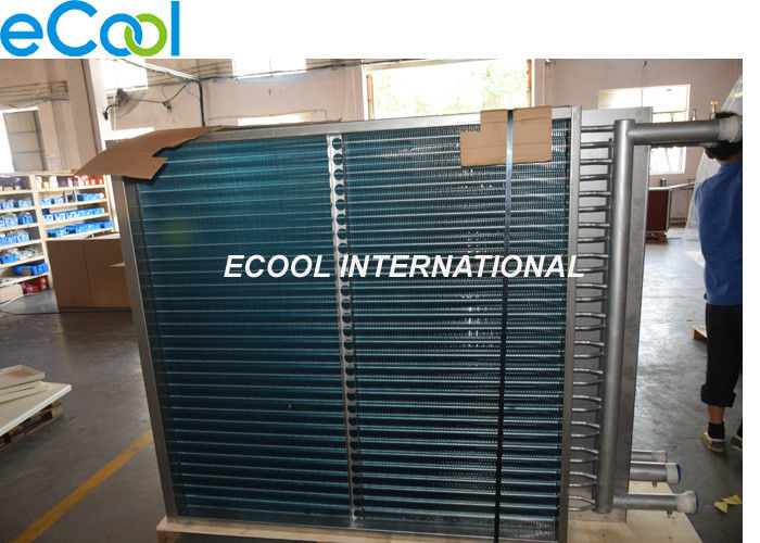Oil Cooler Fin And Tube Heat Exchanger With Customized Size / Capacity
