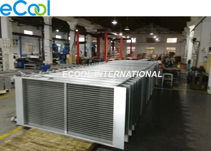 VOC Gas Finned Tube Heat Transfer , Stainless Steel Finned Tube Heat Exchangers