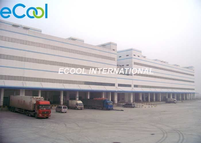 Modern Design Cold Storage Logistics Steel Structure Insulation Boards Assembling