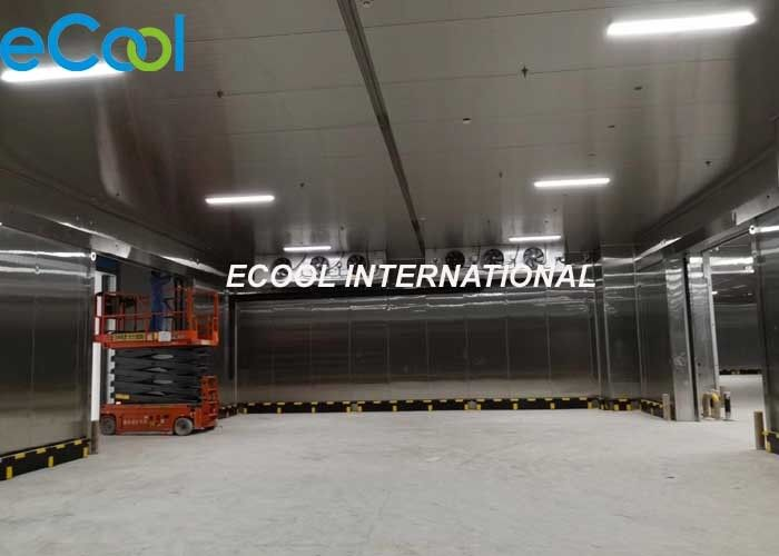 Walk In Cold Room Warehouse Refrigeration Units For Fruits And Vegetables