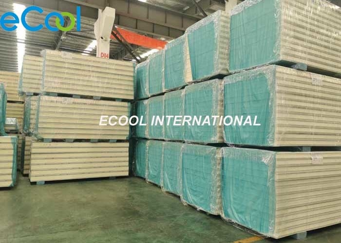 Walk In Cool Room Insulation Panels , Anti Rust Cool Room Sandwich Panels