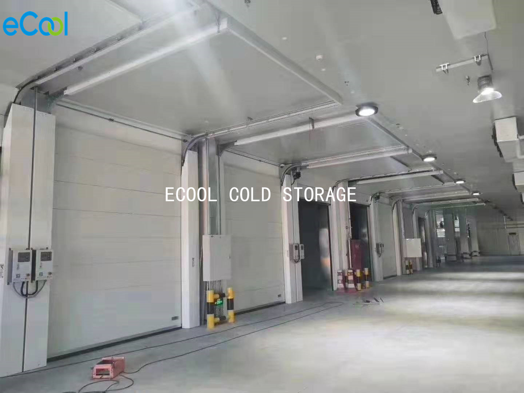 Fireproof Cold Storage Panels For Frozen Food Storage Warehouses 100mm